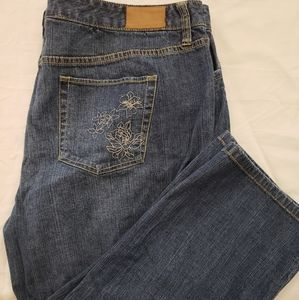 Tommy Hilfiger size 20 stretch chop jeans